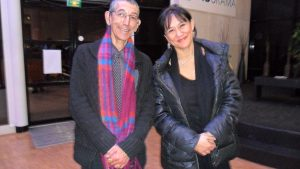 Marie-Josèphe Jude et Omar Yagoubi