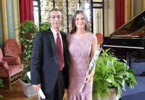 Création mondiale de l'Âme de l'Est pour piano